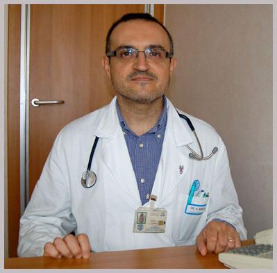 Dott. Antonio Bianchi Dirigente Medico presso il reparto di Endocrinologia e Malattie del Metabolismo