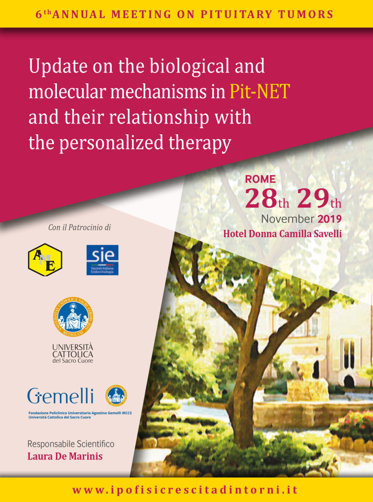 6 th Annual Meeting on Pituitary Tumors